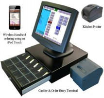 Restaurant POS System with Apple iPod and iPad POS